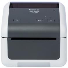 IMPRESORA DE ETIQUETAS Y TICKETS BROTHER TD4420DN TERMICA DIRECTA/ 64MB FLASH RAM/ 256MB RAM/ USB 2.0/ RED
