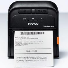 IMPRESORA DE ETIQUETAS Y TICKETS PORTATIL BROTHER RJ3035B 16MB FLASH RAM/ 32MB RAM/ MICRO USB 2.0/ BLUETOOTH