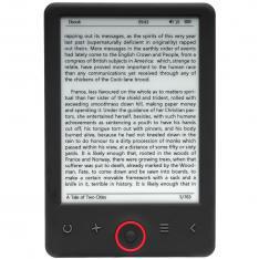 """LIBRO ELECTRONICO EBOOK DENVER EBO-635L 6"""" / E-LINK / FRONT LIGHT / 4GB / MICRO USB"""