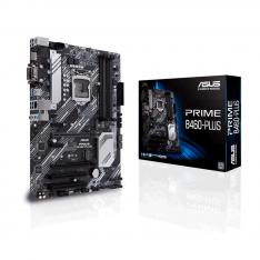 PLACA BASE ASUS INTEL PRIME B460-PLUS SOCKET 1200 DDR4 X4 MAX 128GB 2933MHZ D-SUB HDMI DVI-D ATX