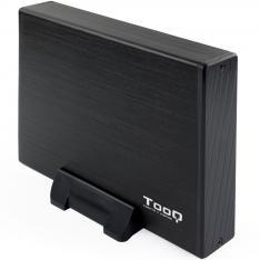 """CAJA EXTERNA TOOQ TQE-3527B PARA HDD 3.5"""" SATA USB 3.0"""