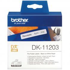 ROLLO DE ETIQUETAS PRECORTADAS BROTHER DK11203