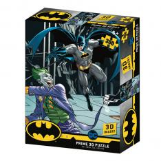 PUZZLE 3D LENTICULAR DC COMICS BATMAN VS JOKER 300 PIEZAS