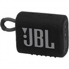 ALTAVOZ BLUETOOTH JBL GO 3 BLACK / 4.2W RMS / IP67 / BATERIA 2.7WH / NEGRO