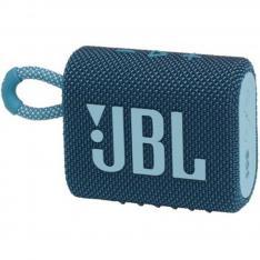 ALTAVOZ BLUETOOTH JBL GO 3 AZUL / 4.2W RMS / IP67 / BATERIA 2.7WH / AZUL