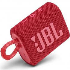 ALTAVOZ BLUETOOTH JBL GO 3 RED / 4.2W RMS / IP67 / BATERIA 2.7WH / ROJO