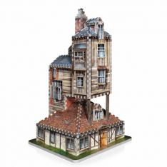 PUZZLE 3D WREBBIT HARRY POTTER CASA MADRIGUERA WEASLEY 415 PIEZAS