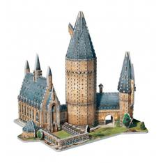 PUZZLE 3D WREBBIT HARRY POTTER GRAN SALON DE HOGWARTS 850 PIEZAS