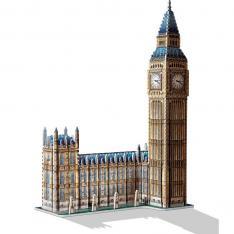 PUZZLE 3D WREBBIT EDIFICIOS EMBLEMATICOS BIG BEN 890 PIEZAS