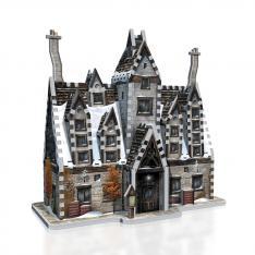 PUZZLE 3D WREBBIT HARRY POTTER LAS TRES ESCOBAS 395 PIEZAS