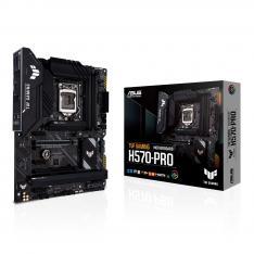 PLACA BASE ASUS INTEL TUF GAMING H570-PRO SOCKET 1200 DDR4 X4 MAX 128GB 3200MHZ DISPLAY PORT HDMI ATX