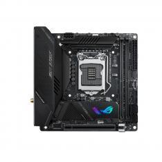 PLACA BASE ASUS INTEL ROG STRIX Z590-I GAMING WIFI SOCKET 1200 DDR4 X2 MAX 64GB 3200MHZ HDMI THUNDERBOLT MINI ITX