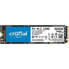 DISCO DURO INTERNO SOLIDO SSD CRUCIAL P2 CT500P2SSD8  500GB M.2 NVME
