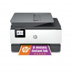 MULTIFUNCION HP INYECCION COLOR OFFICEJET PRO 9010e FAX/ A4/ 22PPM/ USB/ RED/ WIFI/ DUPLEX TODAS LAS FUNCIONES