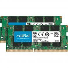 MEMORIA DDR4 16GB 2X8GB CRUCIAL / SODIMM / 2666 MHZ / PC4 21300 / CL19