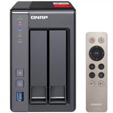 SERVIDOR NAS QNAP TS-251+ 2GB RED USB GIGABIT RJ45