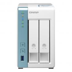 SERVIDOR NAS QNAP TS-231P3-2G 2 GB  ETHERNET GIGABIT