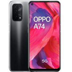 "TELEFONO MOVIL SMARTPHONE OPPO A74 5G NEGRO FLUIDO/ 6.5""/ 128GB ROM/ 6GB RAM/ 48+8+2+2 Mpx- 16 Mpx/ 5000 mAh/ DUAL SIM"