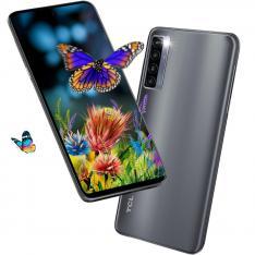 """TELEFONO MOVIL SMARTPHONE TCL 20L+ MILKY WAY GRAY 6.67""""/ 256GB ROM/ 6GB RAM/  64+8+2+2 Mpx - 16 Mpx/ 5000 mAh/"""