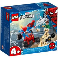 LEGO MARVEL SPIDERMAN BATALLA FINAL ENTRE SPIDERMAN Y SANDMAN