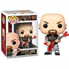 FUNKO POP ESTRELLAS DEL ROCK SLAYER KERRY KING 45388