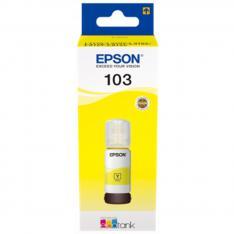 CARTUCHO ECOTANK EPSON 103 AMARILLO INK BOTELLA PARA L3110/ L3150/ L3111/ L3151