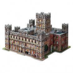 PUZZLE 3D WREBBIT EDIFICIOS EMBLEMATICOS DOWNTOWN ABBEY 850 PIEZAS