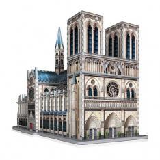 PUZZLE 3D WREBBIT EDIFICIOS EMBLEMATICOS NOTRE DAME DE PARIS 830 PIEZAS