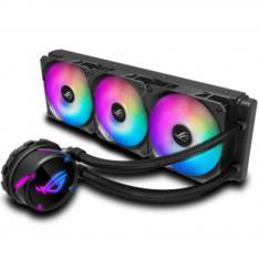 KIT REFRIGERACION LIQUIDA ASUS ROG STRIX LC 360 RGB ALL IN ONE 3 VENTILADORES 120MM GAMING