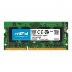 MEMORIA DDR3 8GB CRUCIAL / SODIMM / 1600 MHZ / PC4 12800 CL11