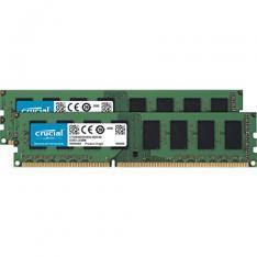 MEMORIA DDR3 8GB 2X4GB CRUCIAL / UDIMM / 1600 MHZ / PC3 12800 / CL11