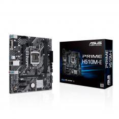 PLACA BASE ASUS INTEL PRIME H510M-E SOCKET 1200 DDR4 X2 MAX 64GB 2933MHZ DISPLAY PORT D-SUN HDMI mATX