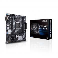PLACA BASE ASUS INTEL PRIME H410M-K SOCKET 1200 DDR4 X2 MAX 64GB 2933MHZ DVI-D D-SUB mATX