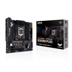 PLACA BASE ASUS INTEL TUF GAMING B560M-PLUS SOCKET 1200 DDR4 X4 MAX 128GB 2933MHZ DISPLAY PORT HDMI mATX
