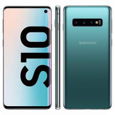 "TELEFONO MOVIL SMARTPHONE REWARE SAMSUNG GALAXY S10 VERDE / 6.1"" / 128GB ROM / 8GB RAM / REACONDICIONADO/ REFURBISH/ GRADO A+"