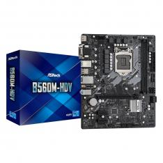 PLACA BASE ASROCK INTEL LGA 1200 B560M-HDV DDR4X2 64GB HDMI MICRO ATX