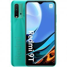 """TELEFONO MOVIL SMARTPHONE XIAOMI REDMI 9T OCEAN GREEN/ 6.53""""/ 64GB ROM/ 4GB RAM/ 48+8+2+2MPX/ 8MPX/ 6000 mAh/ 4G/ HUELLA/ OCTA CORE"""