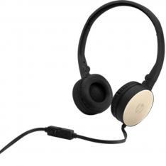 AURICULARES CON MICROFONO HP STEREO HEADSET H2800 NEGRO/ORO