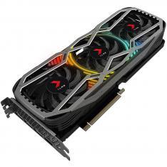 TARJETA GRAFICA PNY NVIDIA GEFORCE RTX 3090 24GB XLR8 GAMING REVEL EPIC-X RGB GDDR6X DISPLAY PORT HDMI TRIPLE VENTILADOR BLACK BOX
