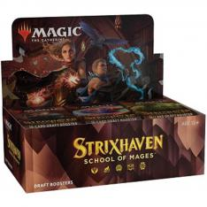JUEGO DE CARTAS DRAFT BOOSTER WIZARD OF THE COAST MAGIC THE GATHERING STRIXHAVEN: SCHOOL OF MAGES INGLES