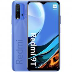 """TELEFONO MOVIL SMARTPHONE XIAOMI REDMI 9T TWLIGHT BLUE/ 6.53""""/ 128GB ROM/ 4GB RAM/ 48+8+2+2MPX/ 8MPX/ 6000 mAh/ 4G/ HUELLA/ OCTA CORE"""