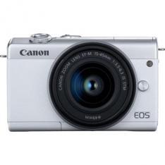 CAMARA DIGITAL CANON EOS M200 BLANCA EF-M/ 24.1MP/ DIGIC 8/ 4K/ WIFI/ BLUETOOTH