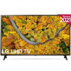 "TV LG 55"" LED 4K UHD/ 55UP75006/  HDR10 PRO/ SMART TV/ DVB-T2/C/S2/ HDMI/ USB/ WIFI/ INTELIGENCIA ARTIFICIAL"