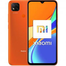 """TELEFONO MOVIL SMARTPHONE XIAOMI REDMI 9C NARANJA 6.53""""/ 32GB ROM/ 2 GB  RAM/ 13+2+2MPX / 5MPX/ 5000 MAH/ 4G/ HUELLA/ OCTA CORE"""