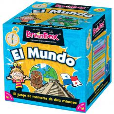 JUEGO DE MESA ASMODEE BRAINBOX EL MUNDO PEGI 8