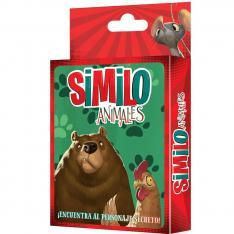 JUEGO DE MESA ASMODEE SIMILO ANIMALES PEGI 7