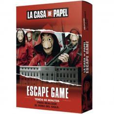 JUEGO DE MESA ASMODEE LA CASA DE PAPEL: ESCAPE GAME PEGI 14