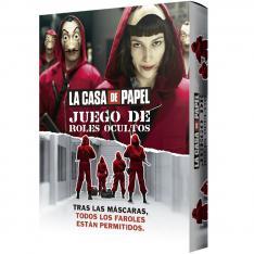 JUEGO DE MESA ASMODEE LA CASA DE PAPEL: ROLES OCULTOS PEGI 14