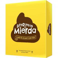 JUEGO DE MESA ASMODEE PREGUNTAS DE MIERDA 2ª EDICION PEGI 16