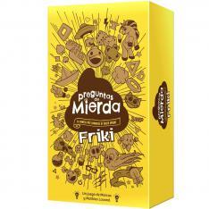 JUEGO DE MESA ASMODEE PREGUNTAS DE MIERDA FRIKI PEGI 16